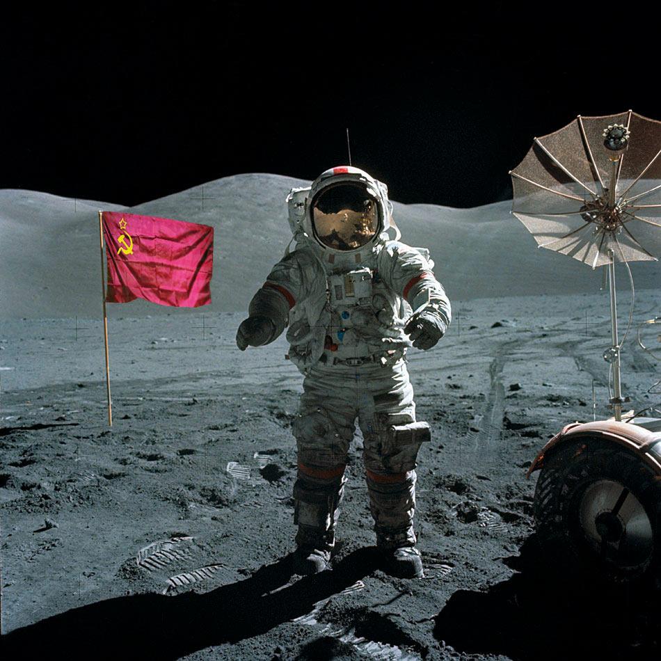 Emilio Pla Escudero Moon USSR