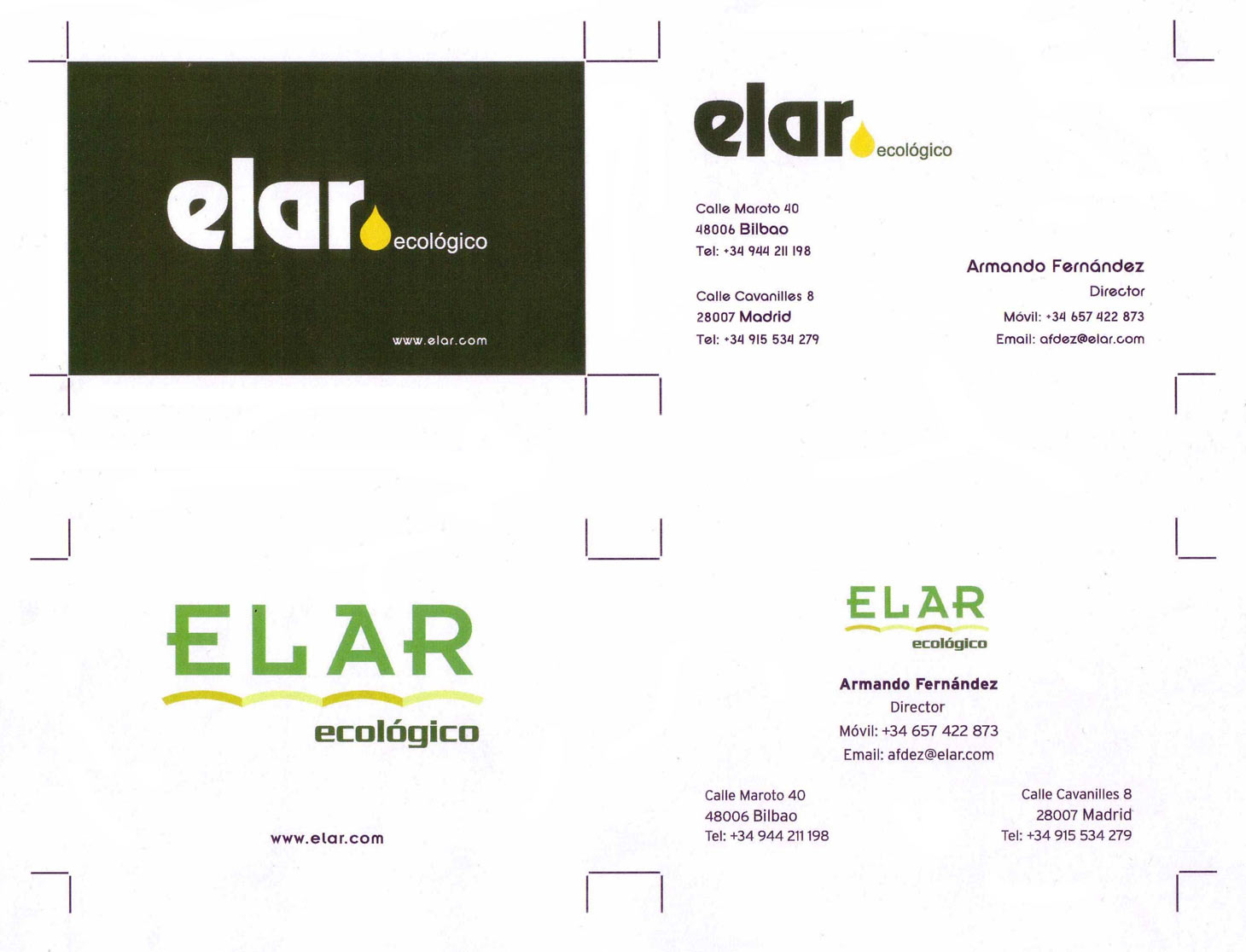 Emilio Pla Escudero business cards